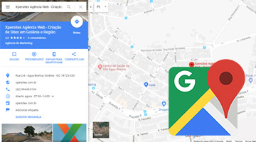 Incluir empresa no Google Maps