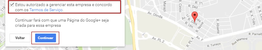 Ficha para colocar empresa no Google Maps